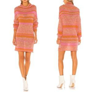 Free People x REVOLVE Candy Stripe Tunic in Pink